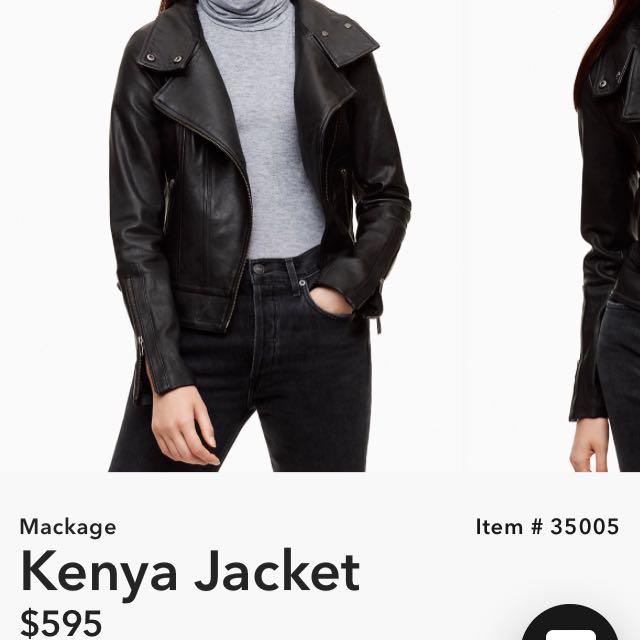 Aritzia Mackage Jacket (xxs)