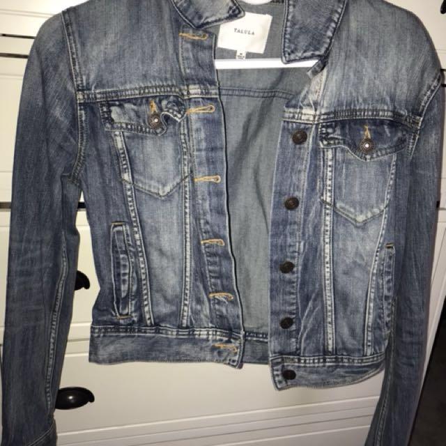 ARITZIA TALULA denim jacket