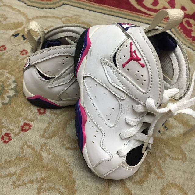 AUTHENTIC Air Jordan Vll Retro Girl