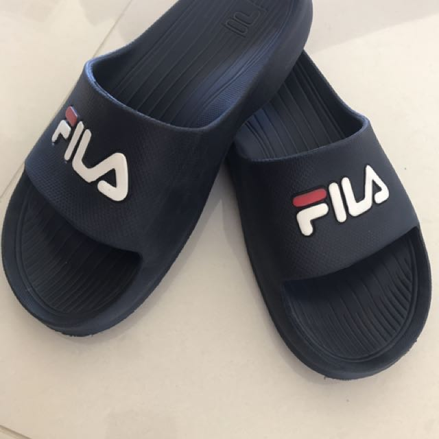 Authentic Fila Slides
