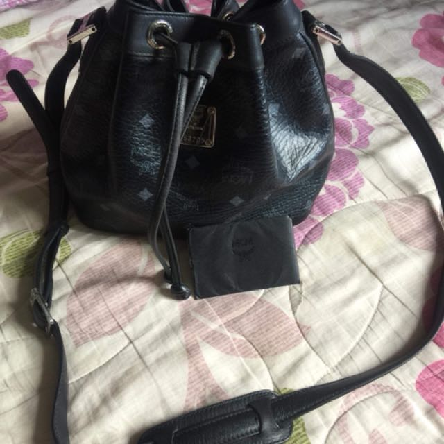 SALE Authentic Mcm Bucket Bag