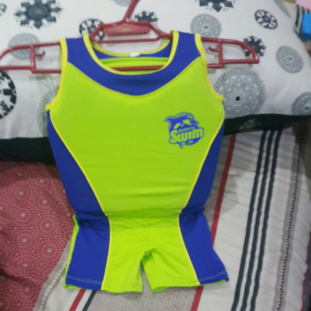 Repriced ! Babies Lifevest Swim Wear 2 in 1 floating vest