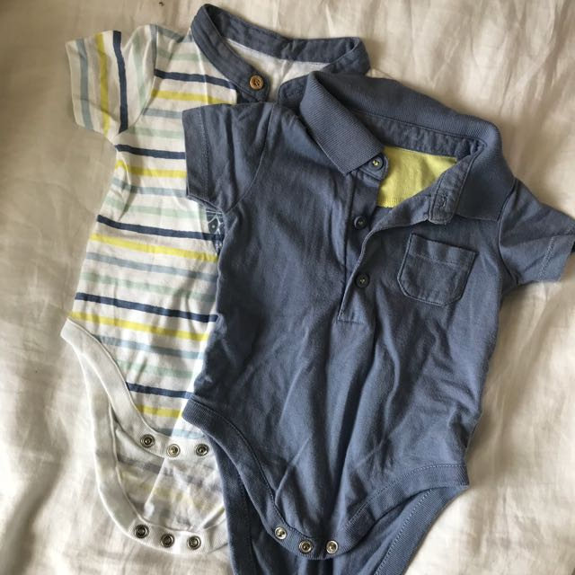 8c425e927e90 Baby boy Mothercare rompers Set of 2
