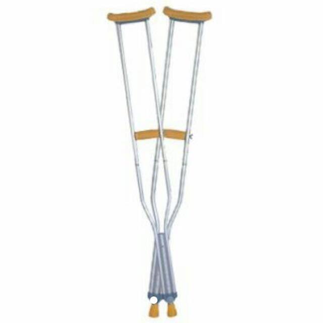 Bagus winmed crutch / alat bantu jalan / tongkat ketiak / kruk