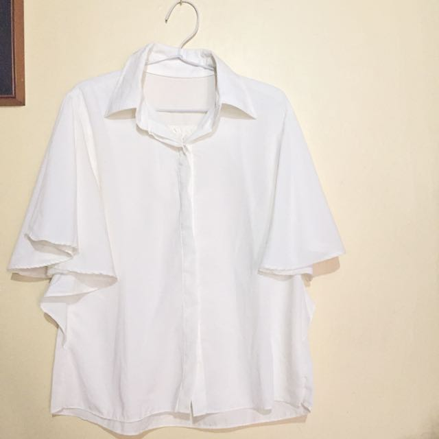 baju kelelawar broken white
