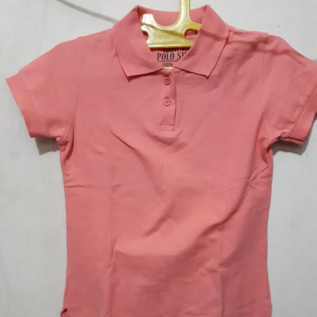 Baju polo shirt casual wear leher wangki
