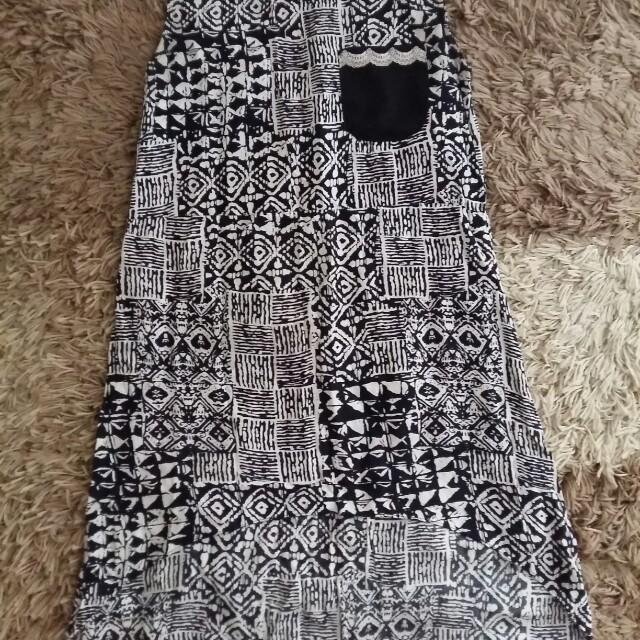Baju Tanktop Dalaman Tanpa Lengan Motif Tribal Aztek Not Zara New Look H&M Stradivarius Cotton On Berskha Tira Gaudi
