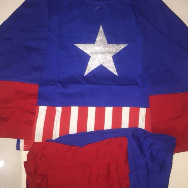 baju tidur captain america