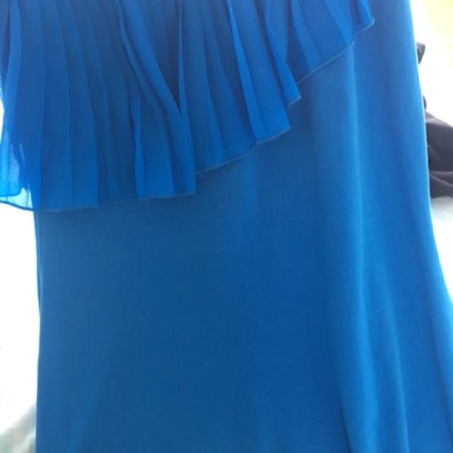 Bardot Dress One Shoulder