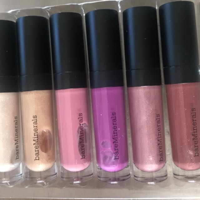 bareMinerals Glossed Up & Gorgeous 6-piece lip gloss collection