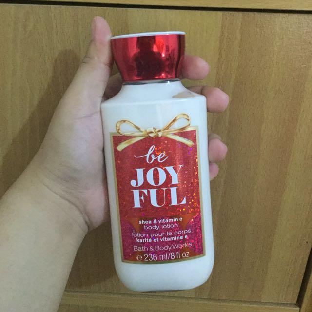 Be Joyful body lotion