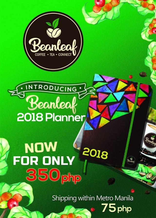 Beanleaf Planner 2018