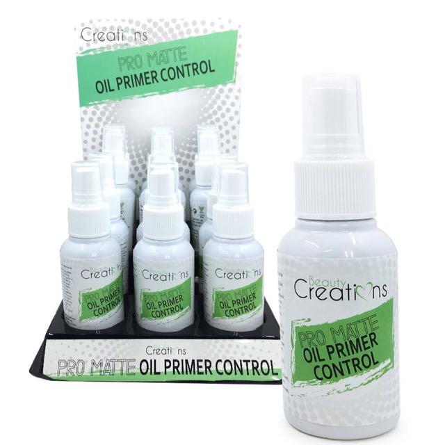 Beauty Creations pro matte oil primer control spray 60ml