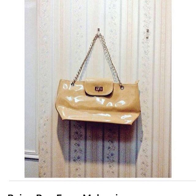 Beige Bag From Malaysia