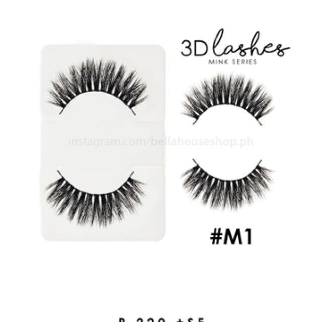 Bella 3D Mink Lashes - False Eyelashes