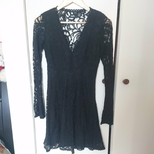 Black Lacey Dress