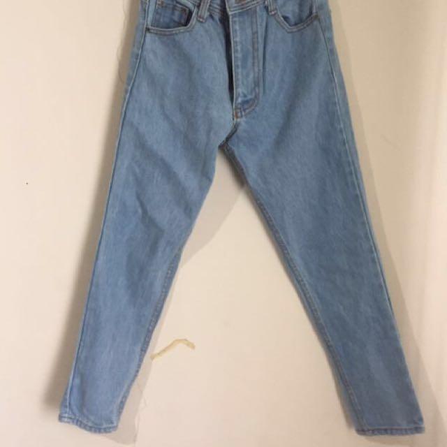 Blue jeans highwaist