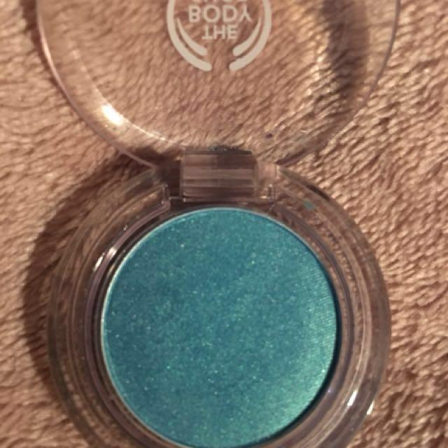 Body Shop Blue Shimmer Eyeshadow