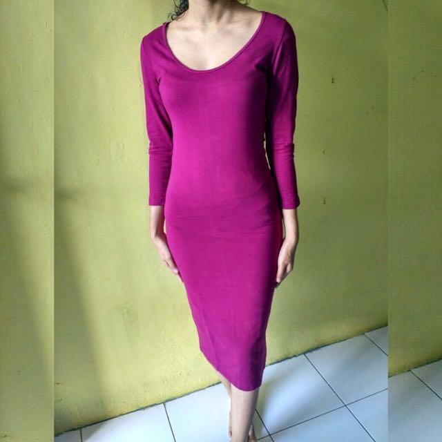 Bodycon Forever 21 / Dress / Baju
