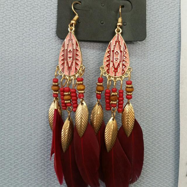 Boho danggling earrings
