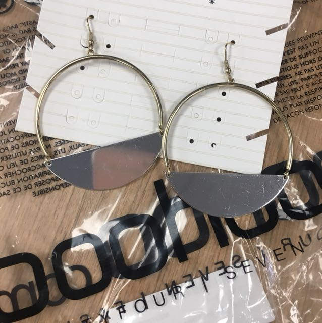 Boohoo earrings