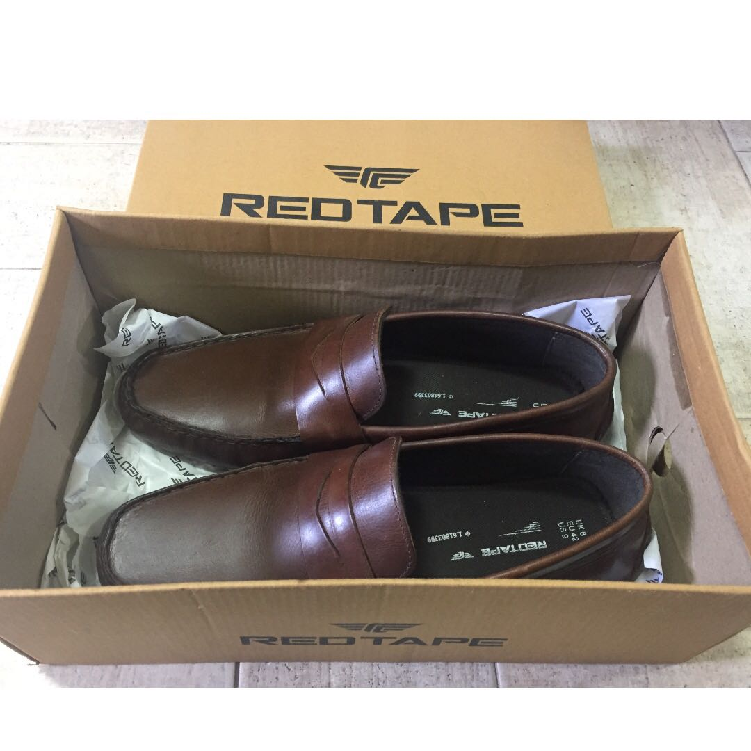 cc2938f1f2d Brown Red Tape Loafers