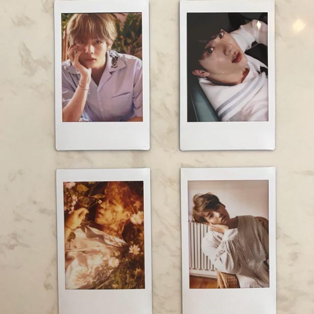 BTS Fanmade Polaroid Prints - Pick Your Own Photo!