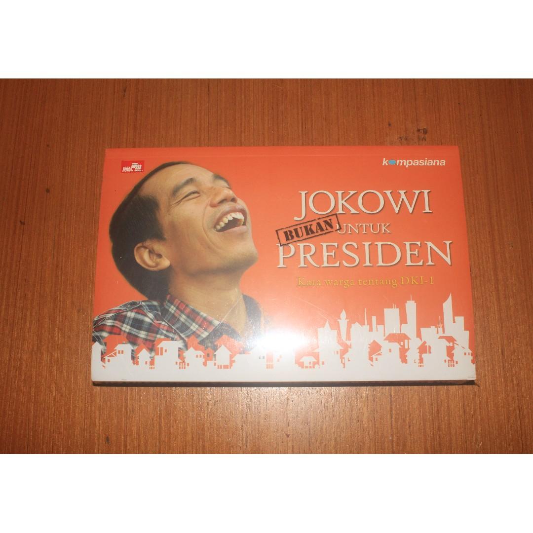 Buku Jokowi Bukan Untuk Presiden