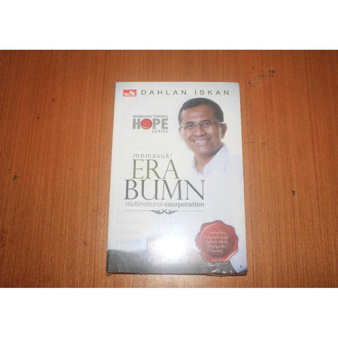 Buku Memasuki Era BUMN Multinational Corporation Manufacturing Hope Series