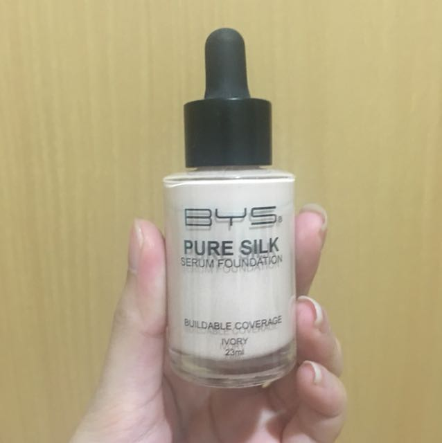 BYS Pure Silk Foundation (Ivory)