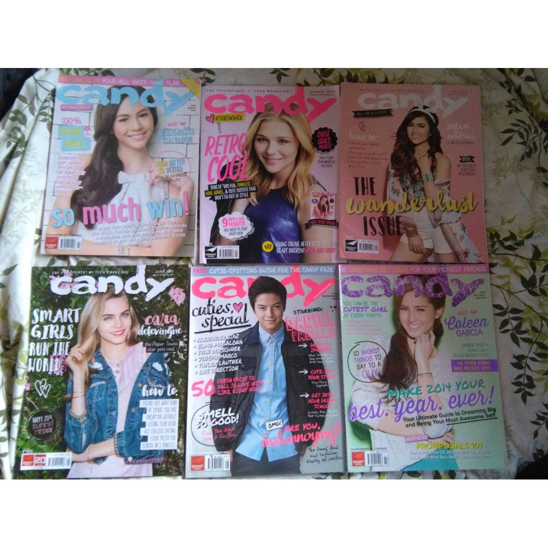 Candy Magazine old issues