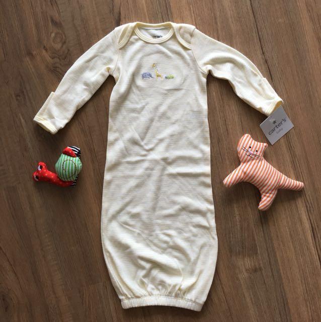 Carter's baby newborn sleepsuit/swaddle
