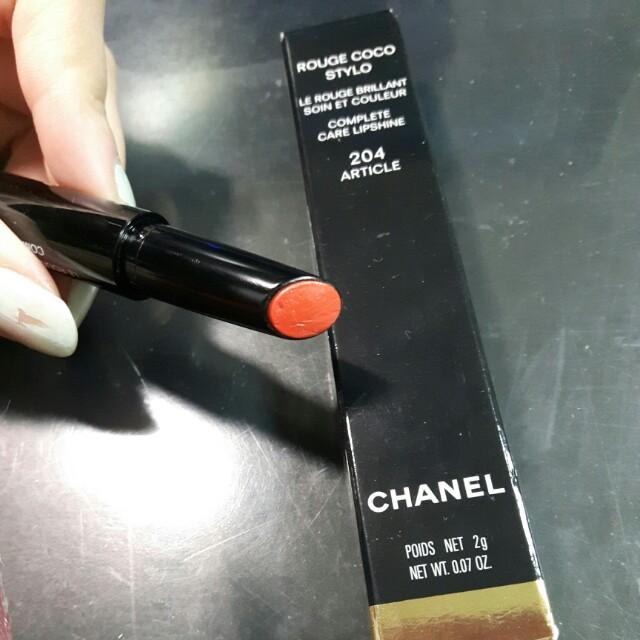 Chanel精萃釉色唇筆204