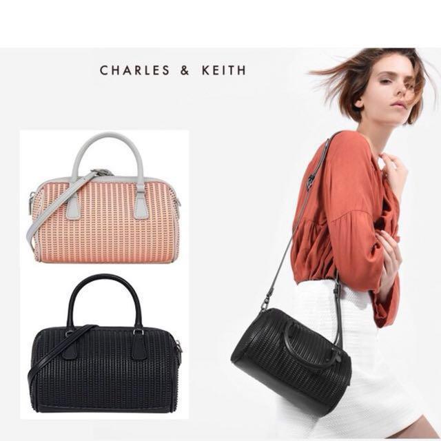 Charles & Keith Inspired Bowling Bag