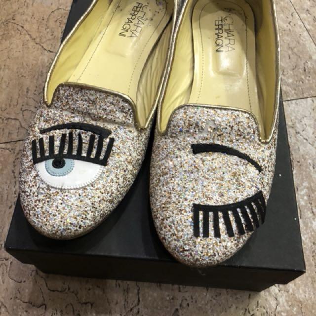 真品Chiara 眨眼鞋