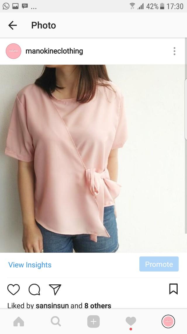 Ciki pink top