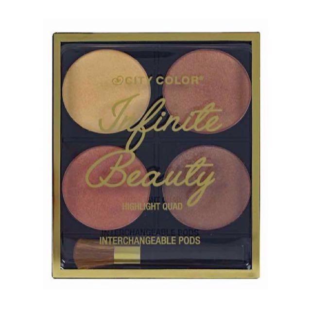 City Color Highlight Quad -Infinite beauty