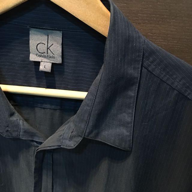 CK短袖襯衫👔男款
