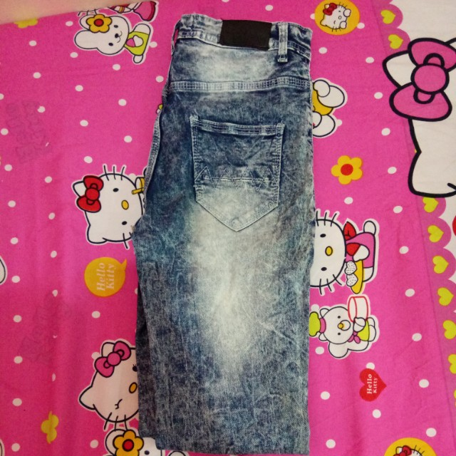 Ckey jeans kancing depan banyak