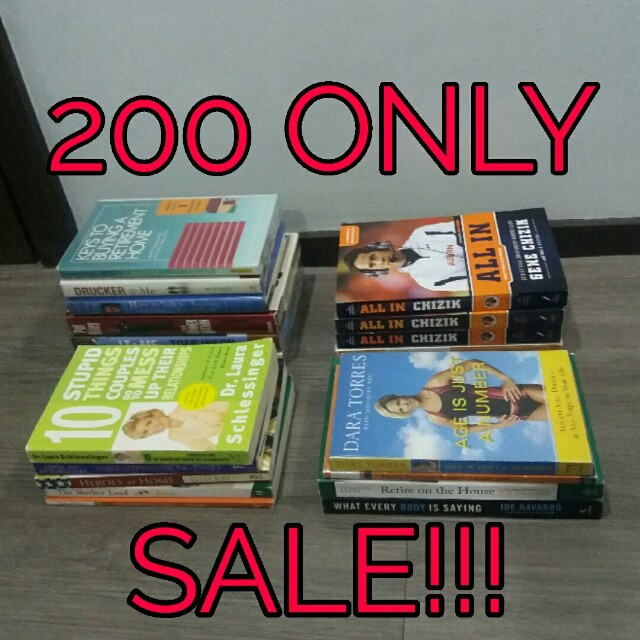 Clearance Sale! Self-help and Business Books