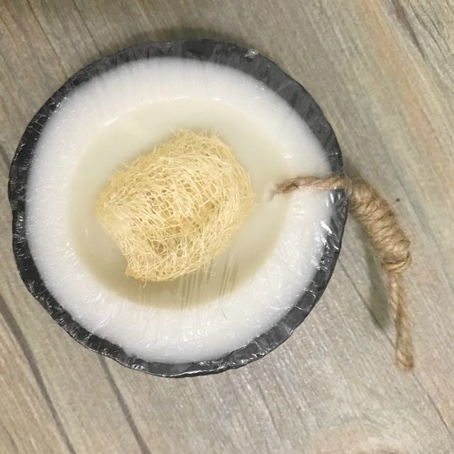 Coconut scent soap