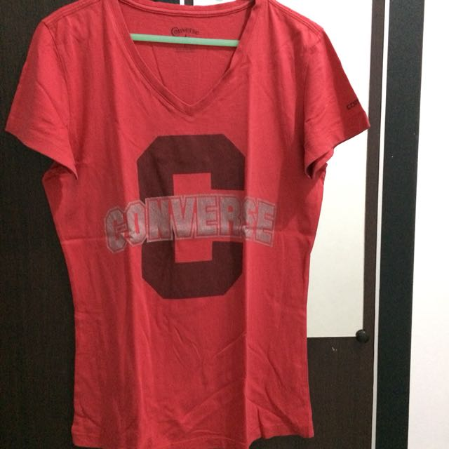 Converse T-Shirt Red