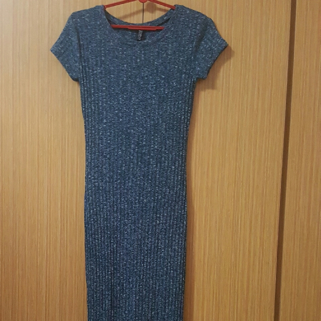 cotton on knitted maxi dress