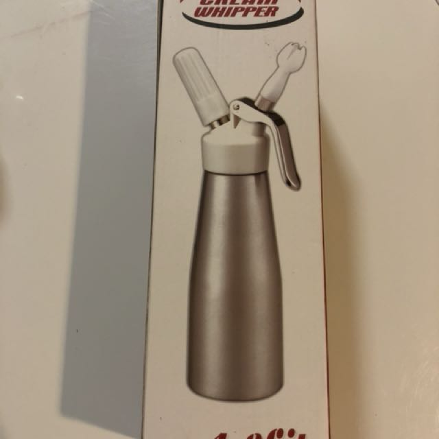 Cream whipper 1litre capacity