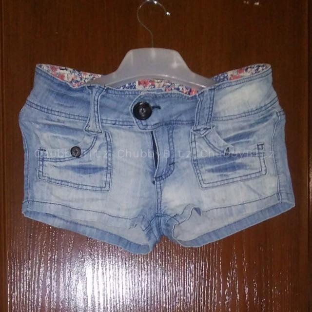 Denim Spice Shorts