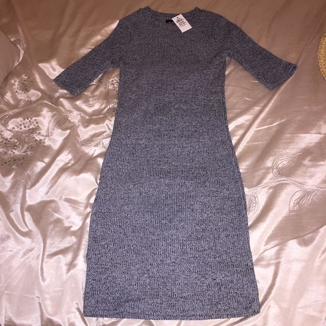 Dotti ribbed dress