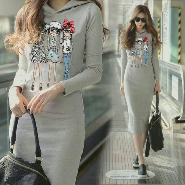 Dress Agnes Hoody SM