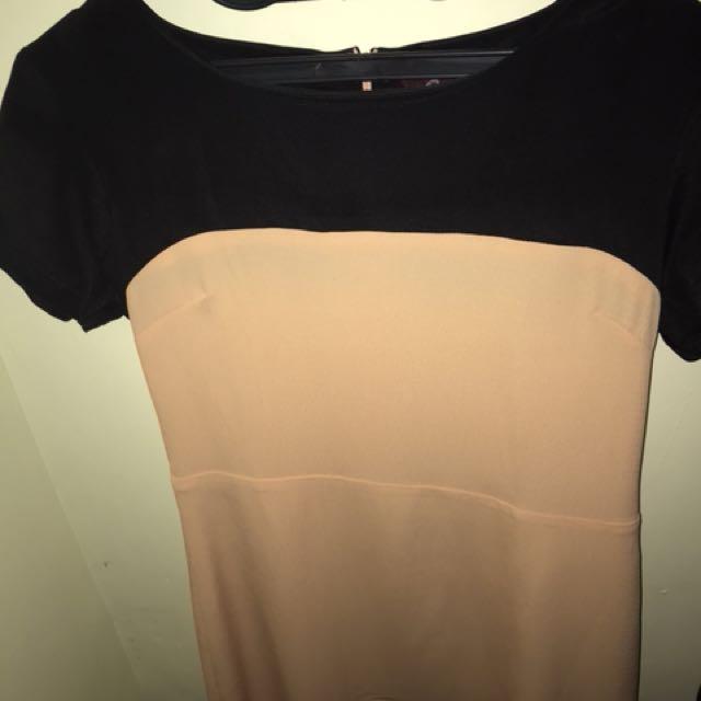 Dress pastel pendek