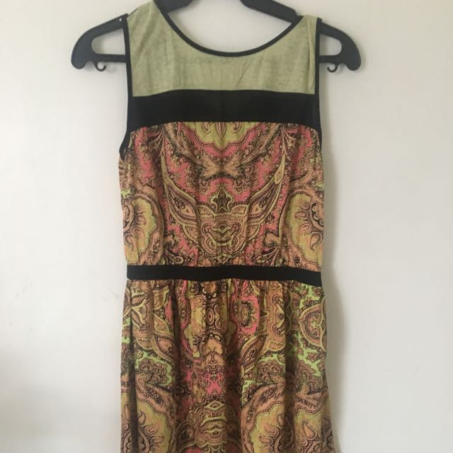 Dress with cute print