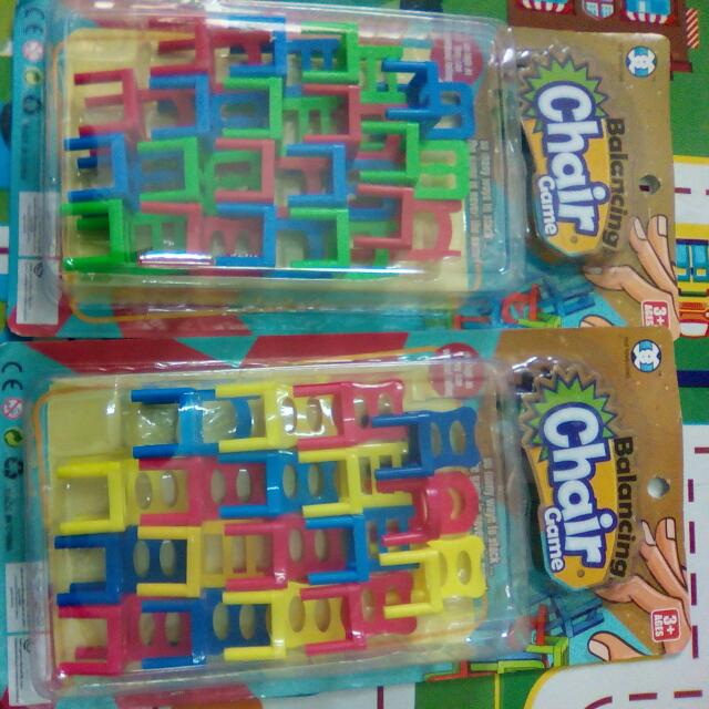 Ñew Toys For Kids, Balancing Chairs, P95 Each